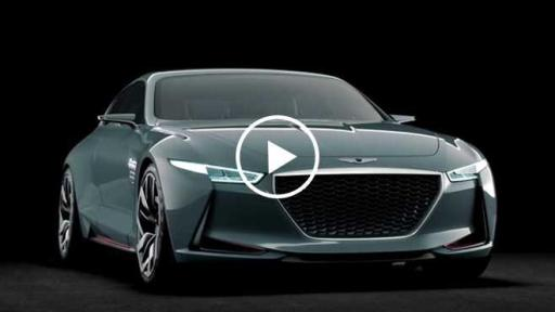 Genesis Reveals Hybrid Sports Sedan Concept At New York