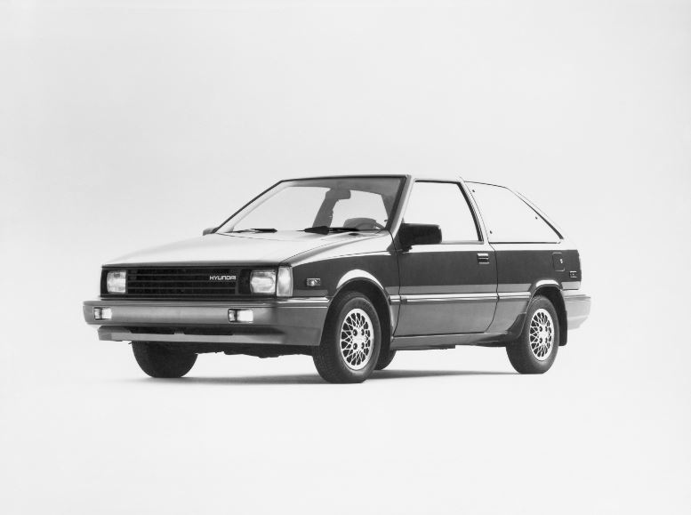 Hyundai Launches its First Vehicle in the U.S. – the 1986 Excel. Within seven months, Hyundai sold its 100,000th Excel, setting a record for the most first-year sales for an import automaker.