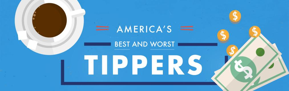 Where the best and worst tippers in America live — Quartz