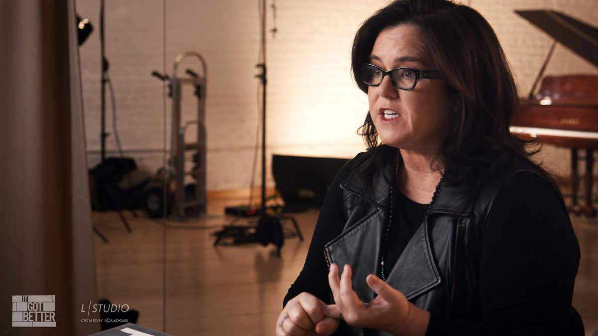 "L/Studio ""It Got Better"" Season Two, Episode One, featuring Rosie O'Donnell"