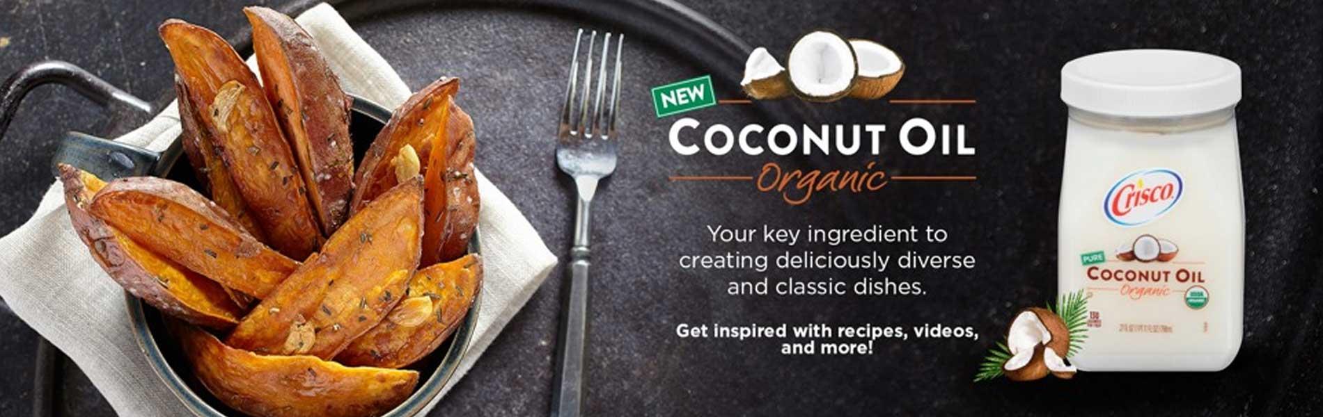 Crisco introduces new organic coconut oil crisco forumfinder Images