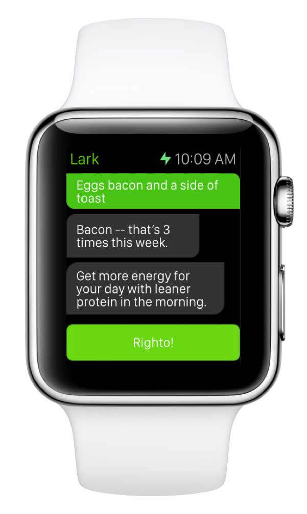 Meet Your New Diet BFF: Lark Chat Transforms Your Apple ...