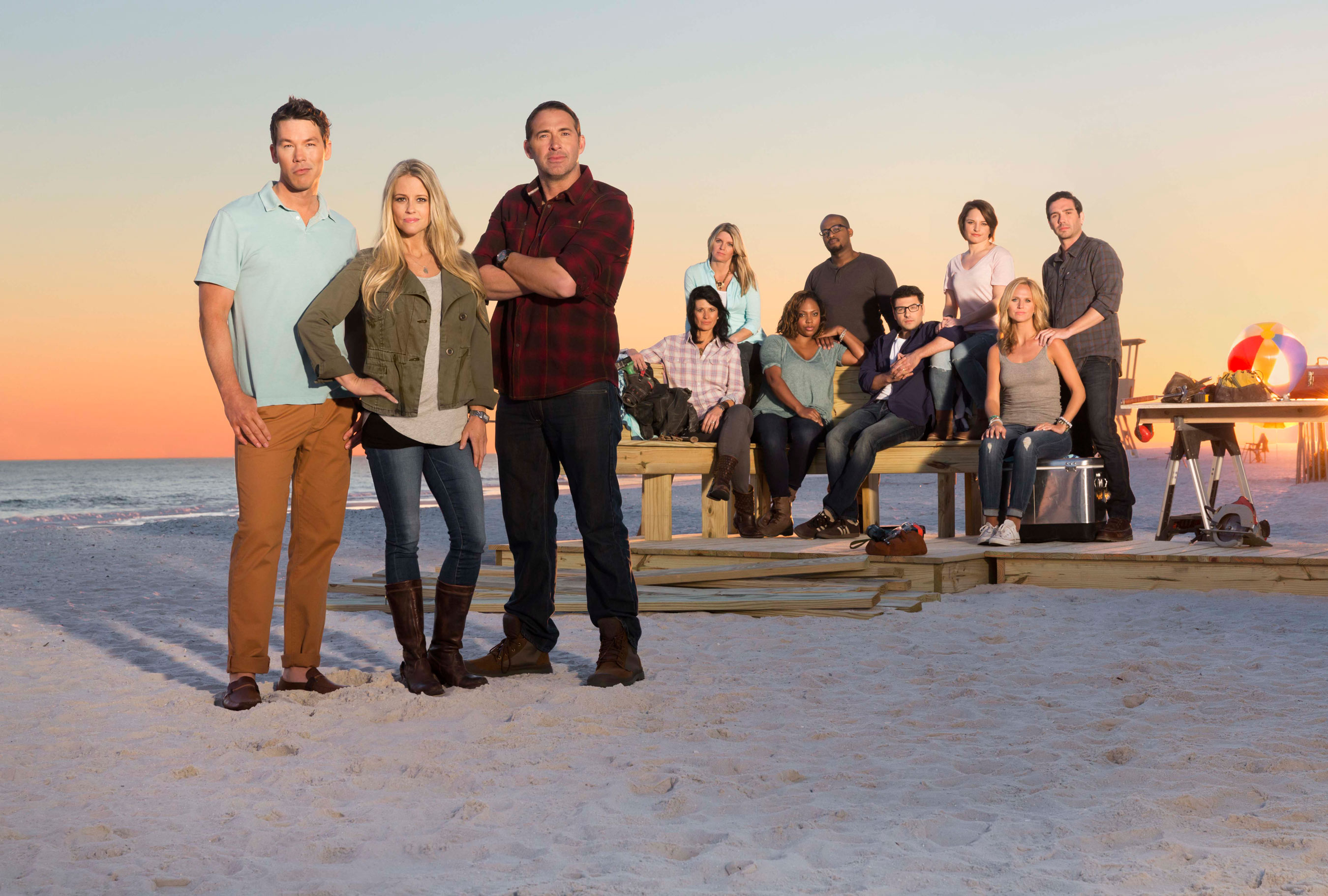 Hgtv s hot new renovation competition series beach flip debuts