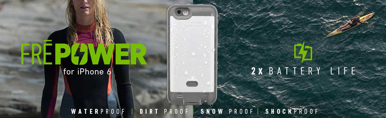 FRE Power available now on lifeproof.com.