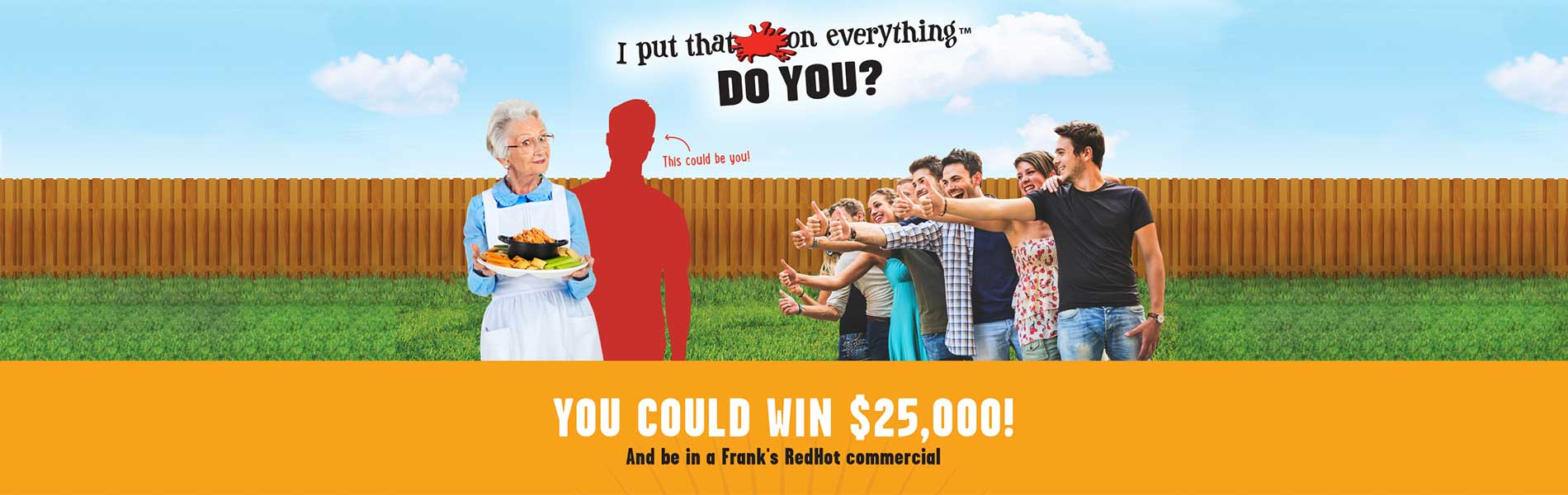 Franks red hot contest