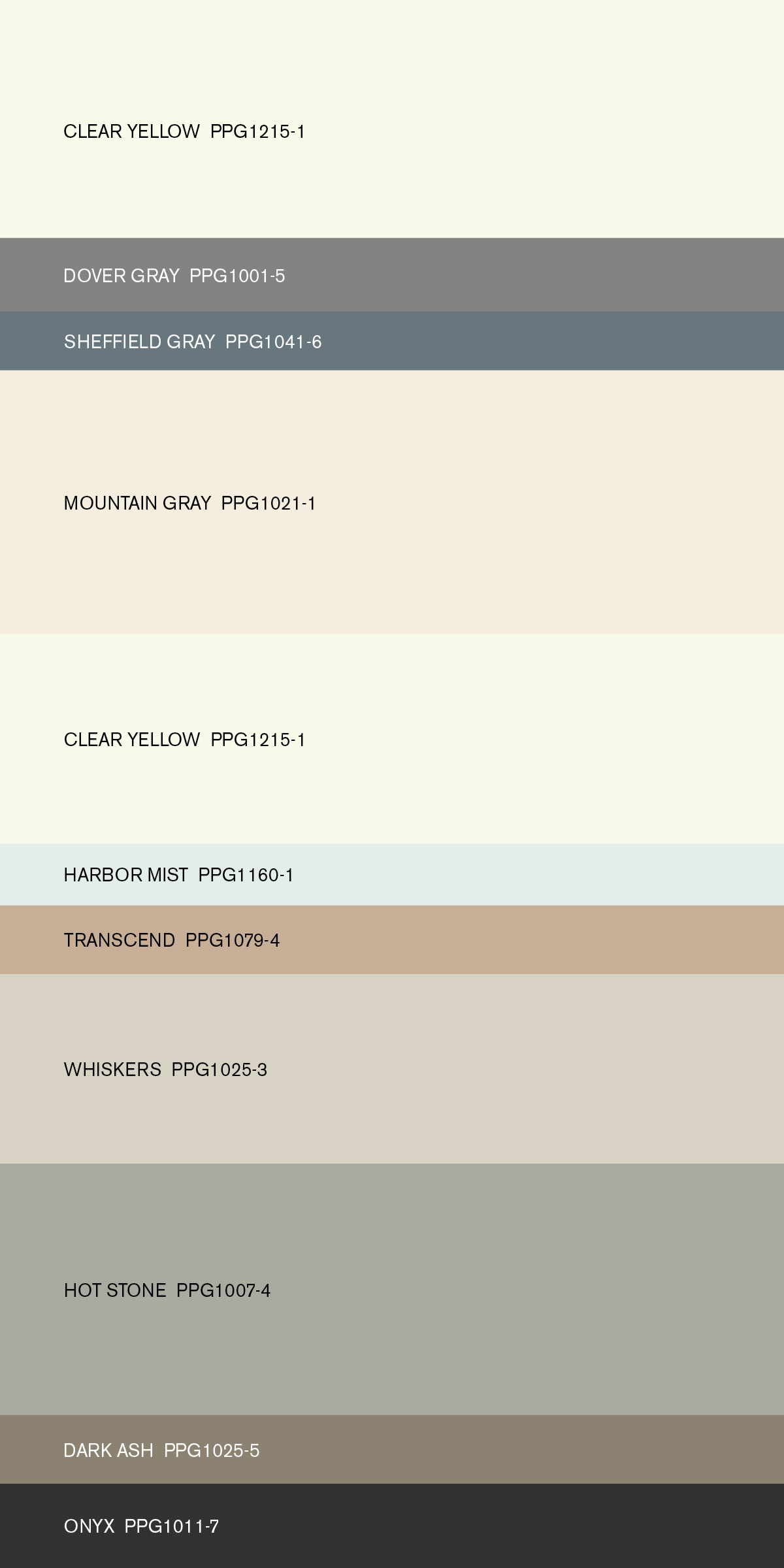 The Book Of Now From Ppg Voice Color Program Provides Designers And Architects With Trends Palettes For Targeted Markets