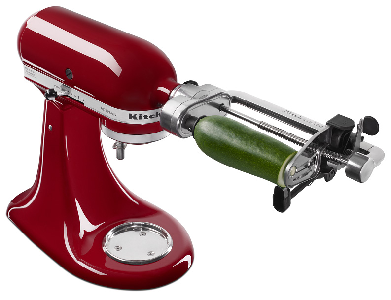 NEW KITCHENAID® SPIRALIZER ATTACHMENT KICKS UP CREATIVITY  -> Kitchenaid Spiralizer