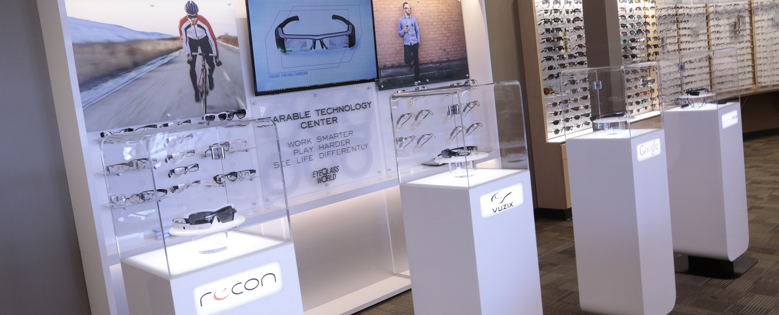 36c1ea806fc Eyeglass World Launches First Retail Collection of Prescription Lenses for  Smart Glass Devices