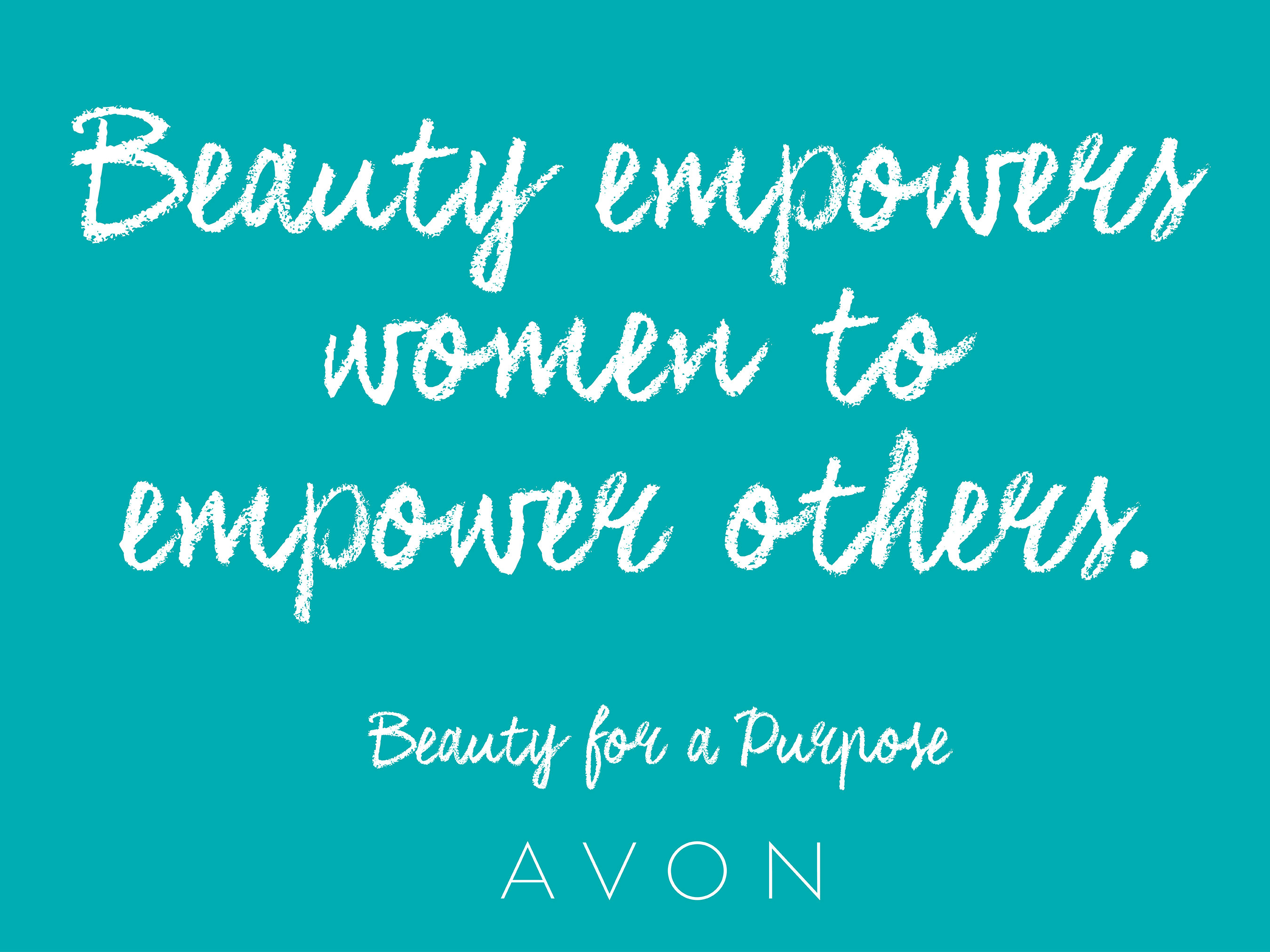 Avon Announces Beauty For A Purpose New Brand Statement Reflecting
