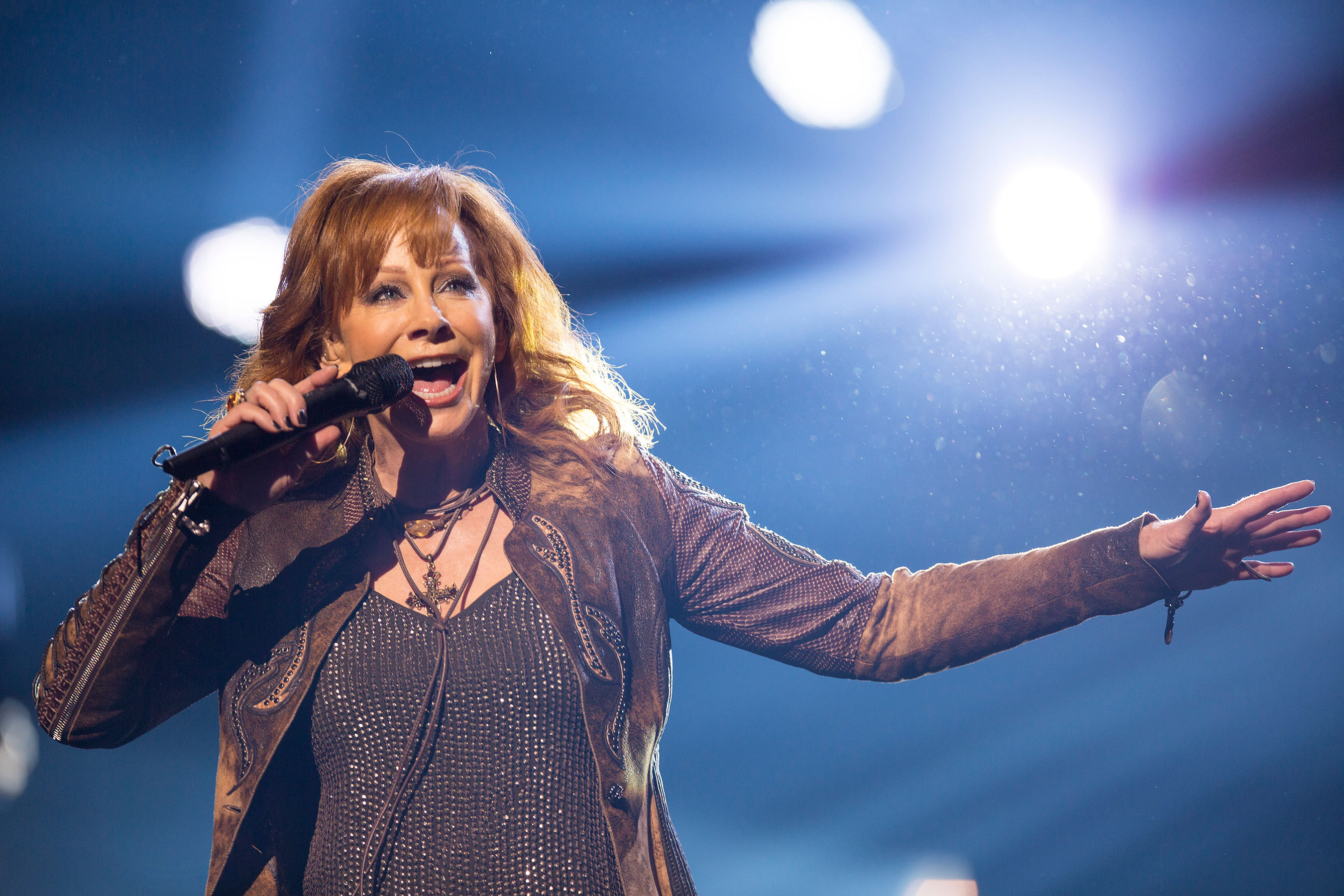 Reba launches her new Las Vegas residency with Brooks & Dunn, REBA, BROOKS & DUNN: Together in Vegas at The Colosseum at Caesars Palace on Wednesday, June 17. Photo credit: Justin McIntosh