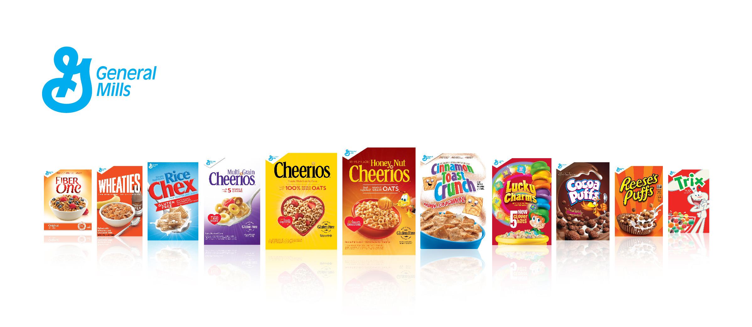 General mills brands