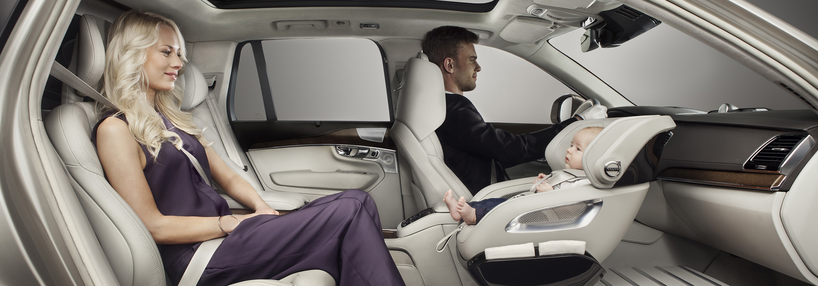 Volvo Cars Adds A Little Luxury With Excellence Child Safety Seat Concept