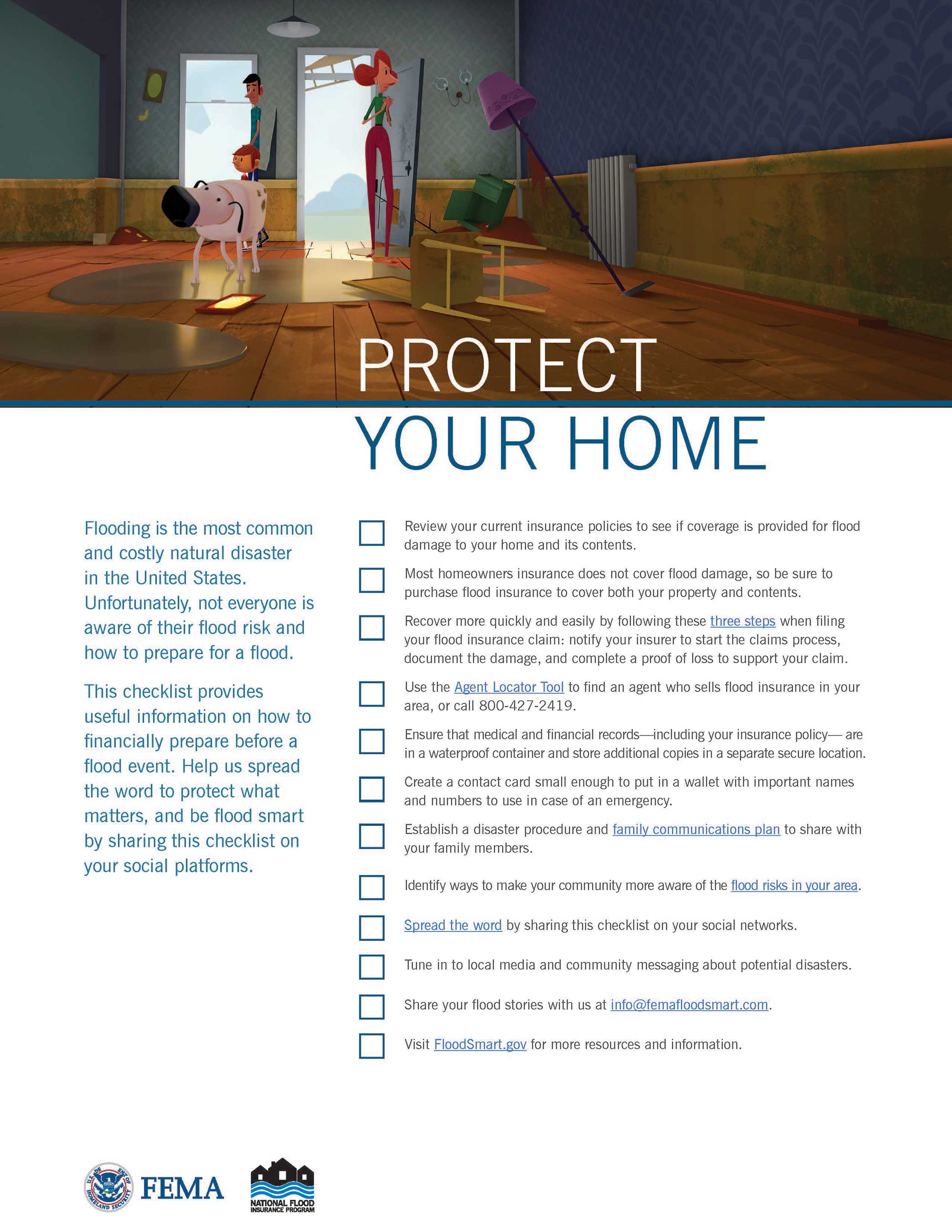 Protect Your Home Checklist