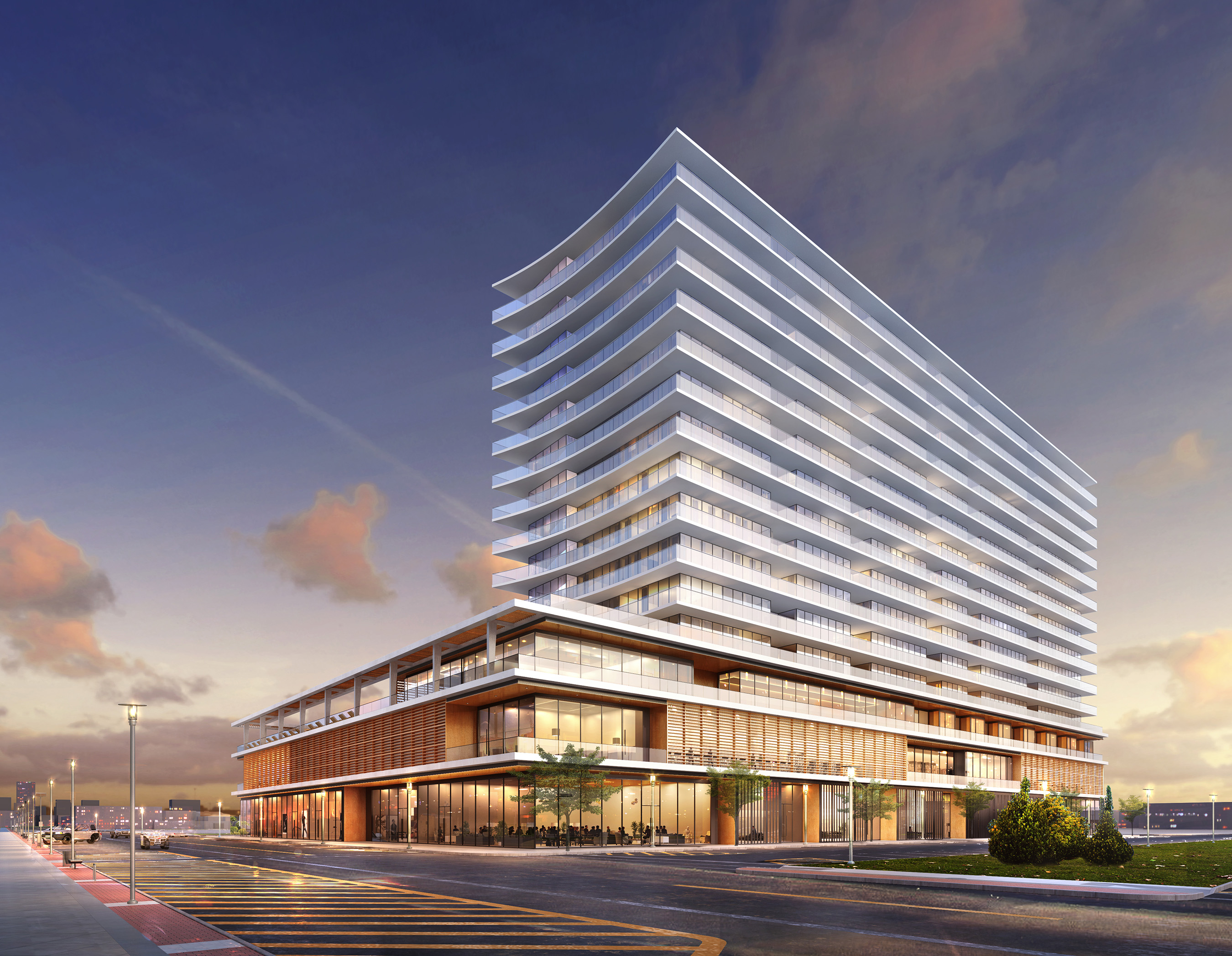 1101 Ocean, a landmark mixed-use hotel/condominium/retail project that will shine as one of the tallest buildings along the Jersey Shore
