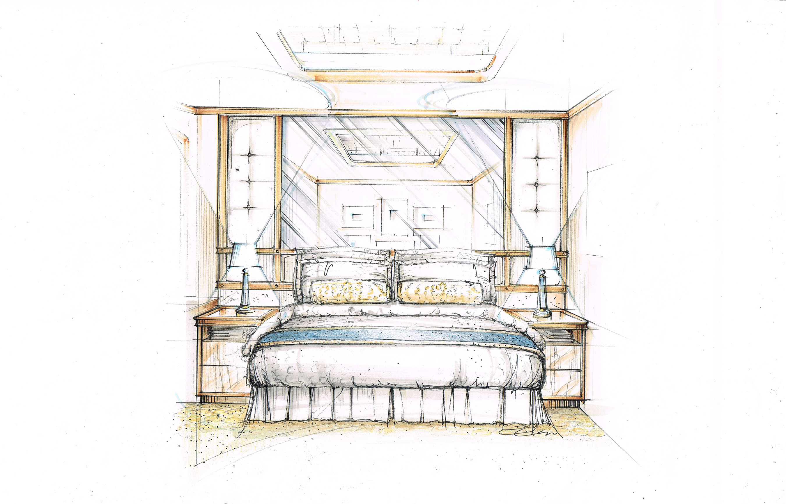 Princess Cruises Introduces New Princess Luxury Bed In