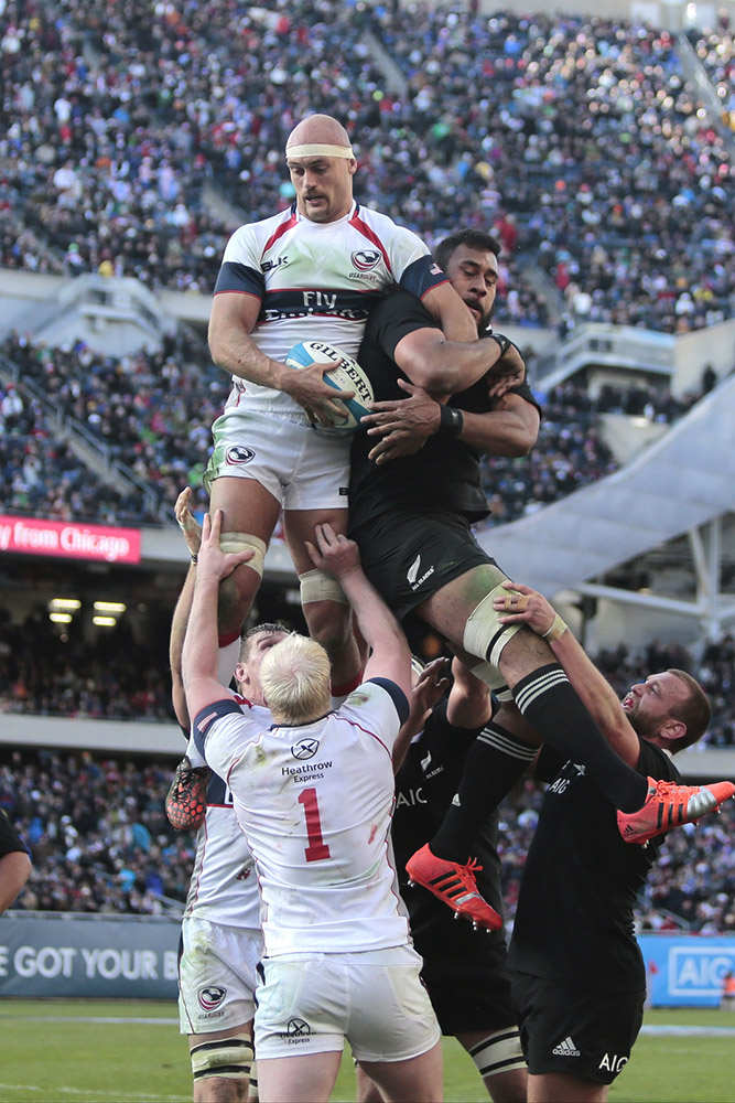 USA Rugby vs. New Zealand - 2014