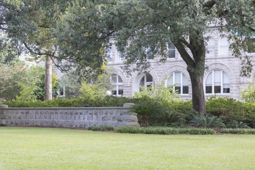 Tulane University Sign 2