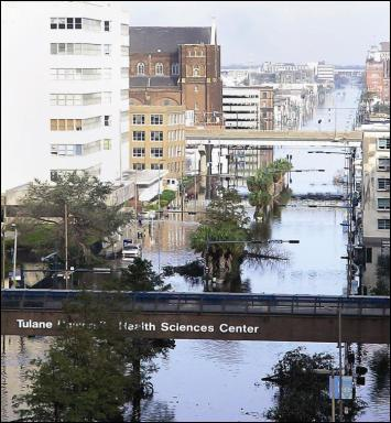 Tulane University Flooding Health Science Center