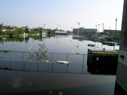 Tulane University Flooding Practice Field