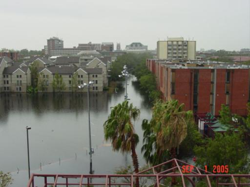 Tulane University Flooding Dorms