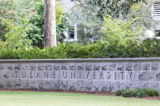 Tulane University Sign 1