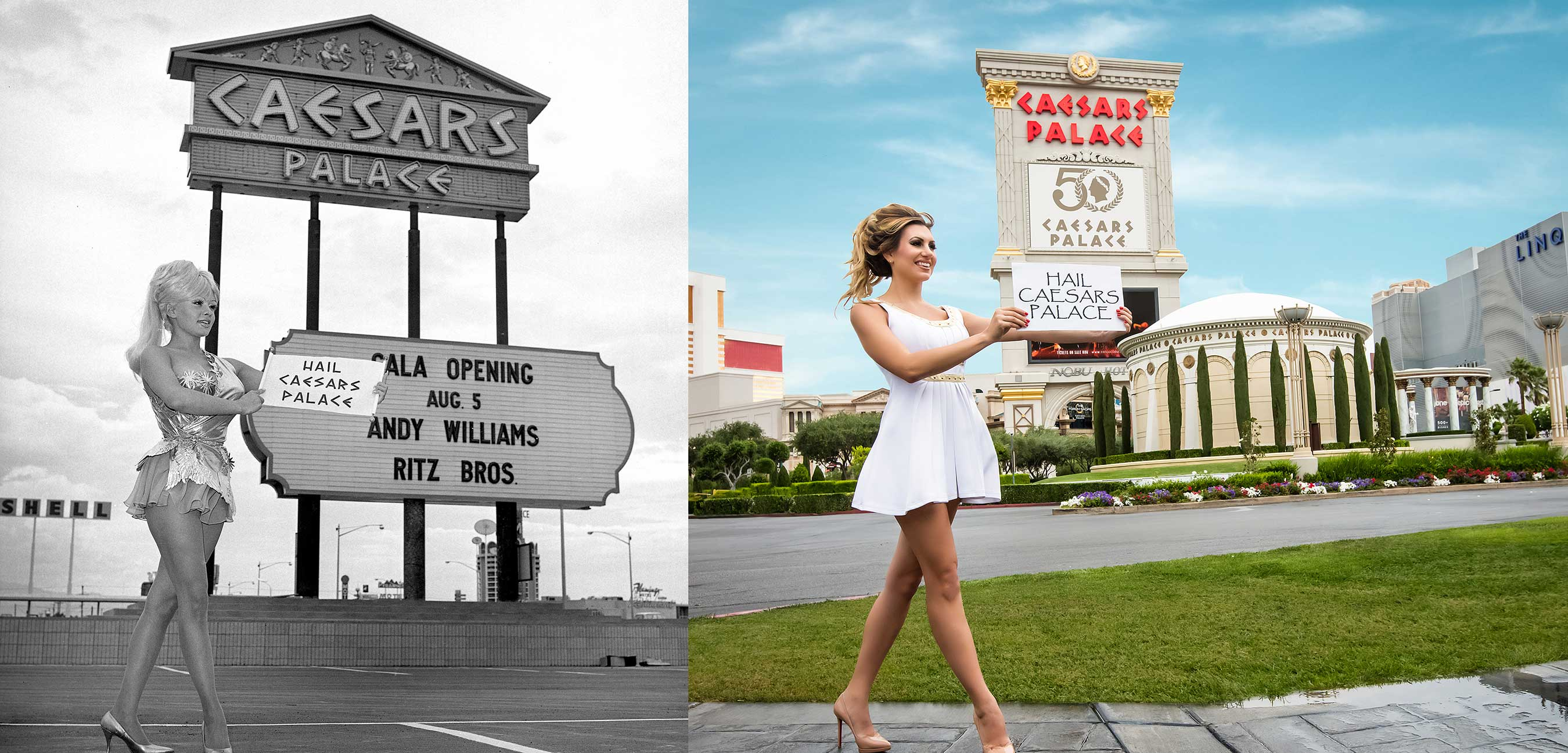 Caesars Palace Las Vegas Celebrates 50th Anniversary With Sweepstakes And Giveaways, Walking Tour And Photo Exhibit, Special Room Packages, Marquee Events And More