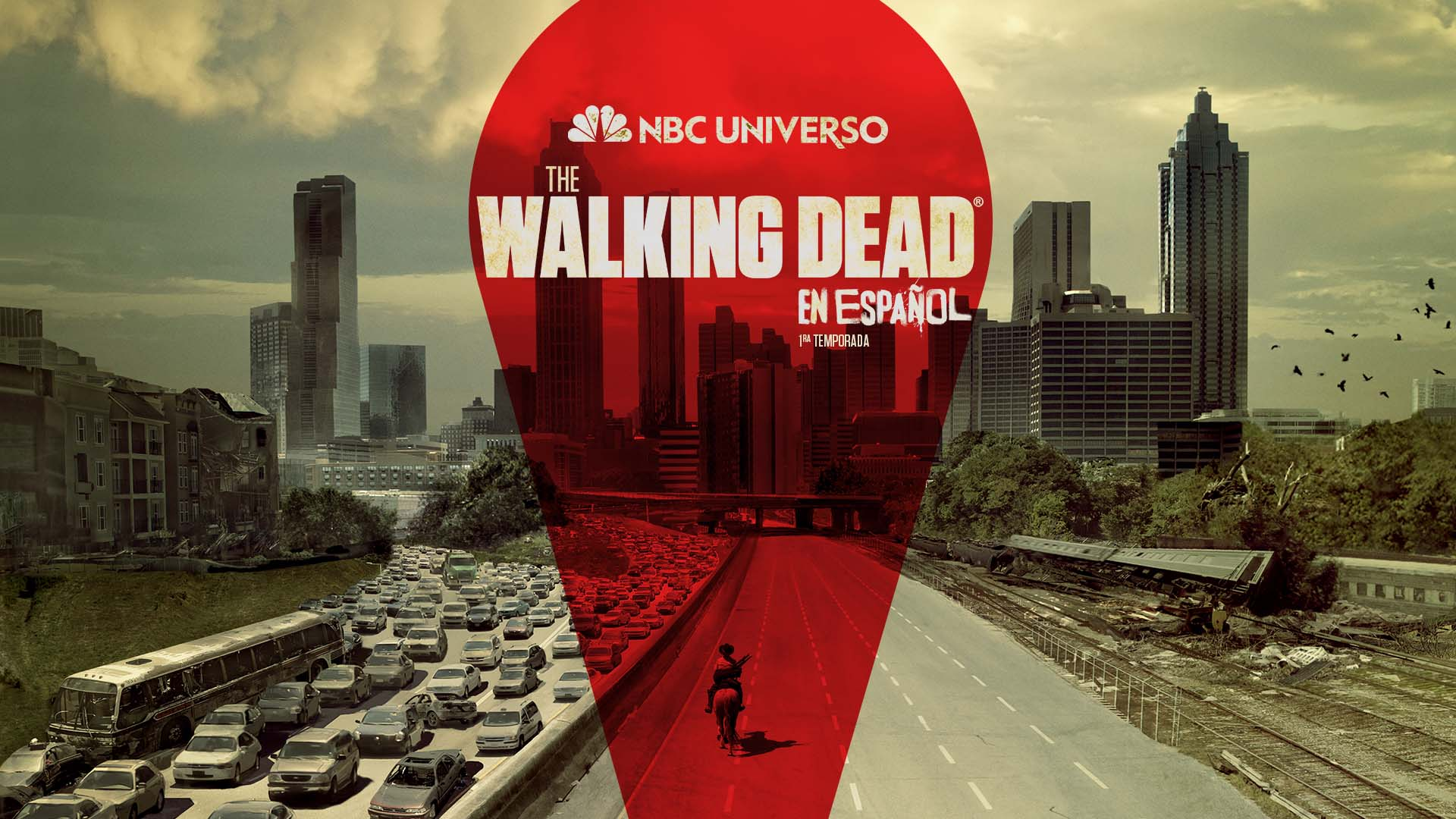 """NBC UNIVERSO premieres the Spanish-language debut of """"The Walking Dead"""" in the U.S. Wed., Jan. 20 at 10pmET/PT"""