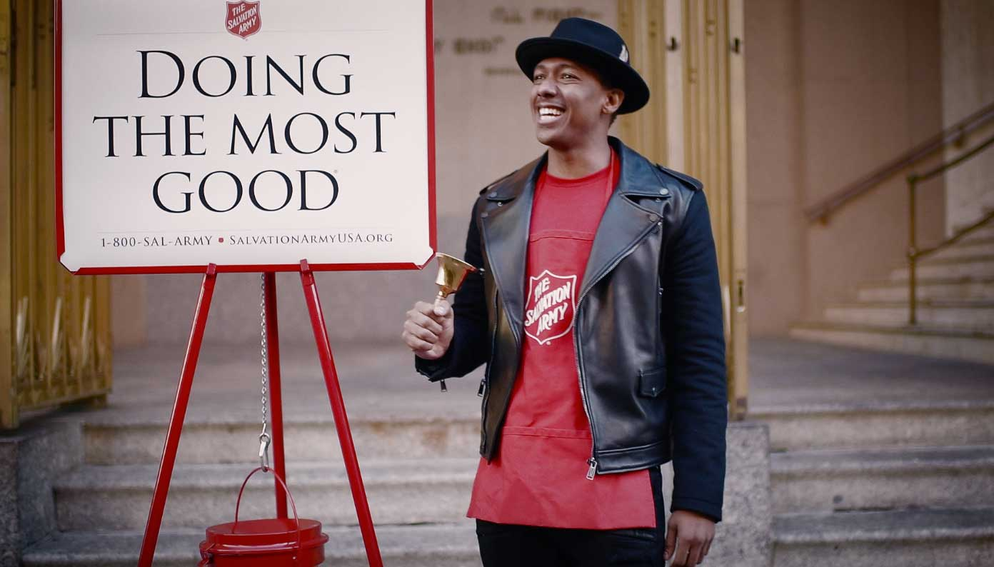 Nick Cannon and The Salvation Army invite supporters to enter for the chance to participate in The Salvation Army Giving Spree to shop for kids in need this holiday season.