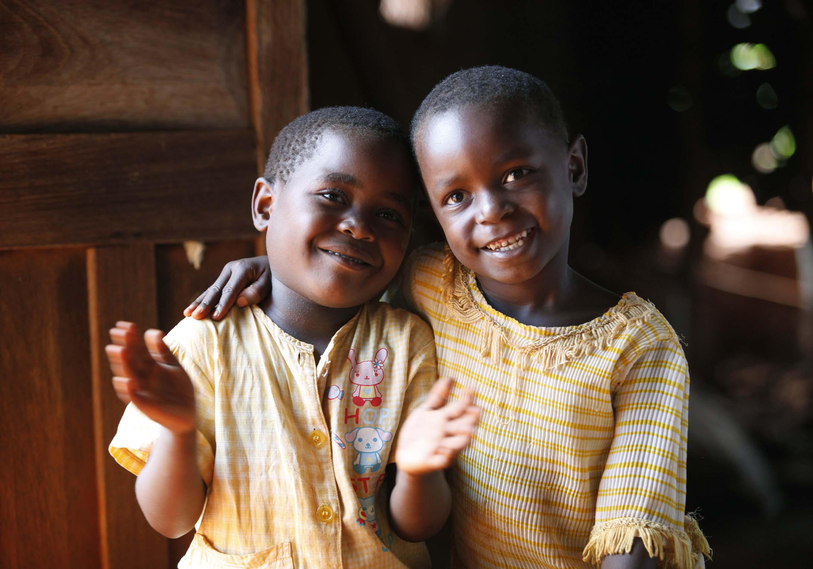 Children playing in Tanzania