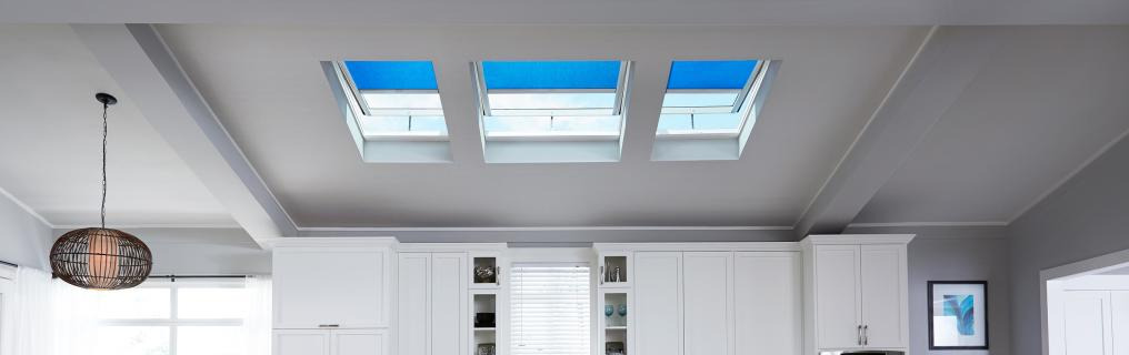 Homeowners save now and later with velux solar powered for Velux solar powered blinds