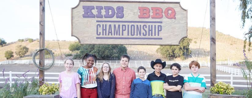 Food Network Discovers The Next Generation Of Elite Grill Masters In New Primetime Series Kids