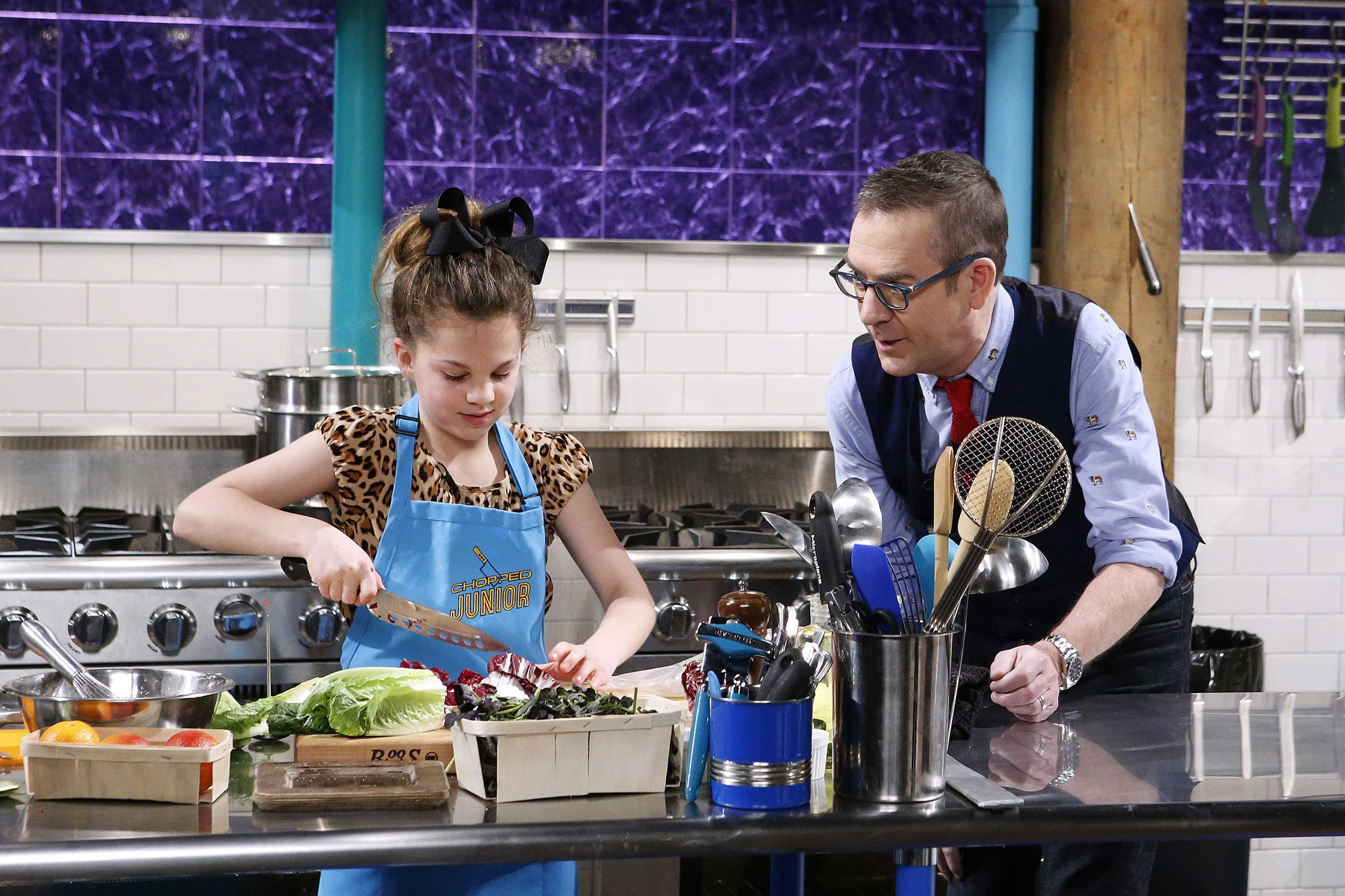 Chopped Food Network talented junior chefs showcase their skills on food network in new