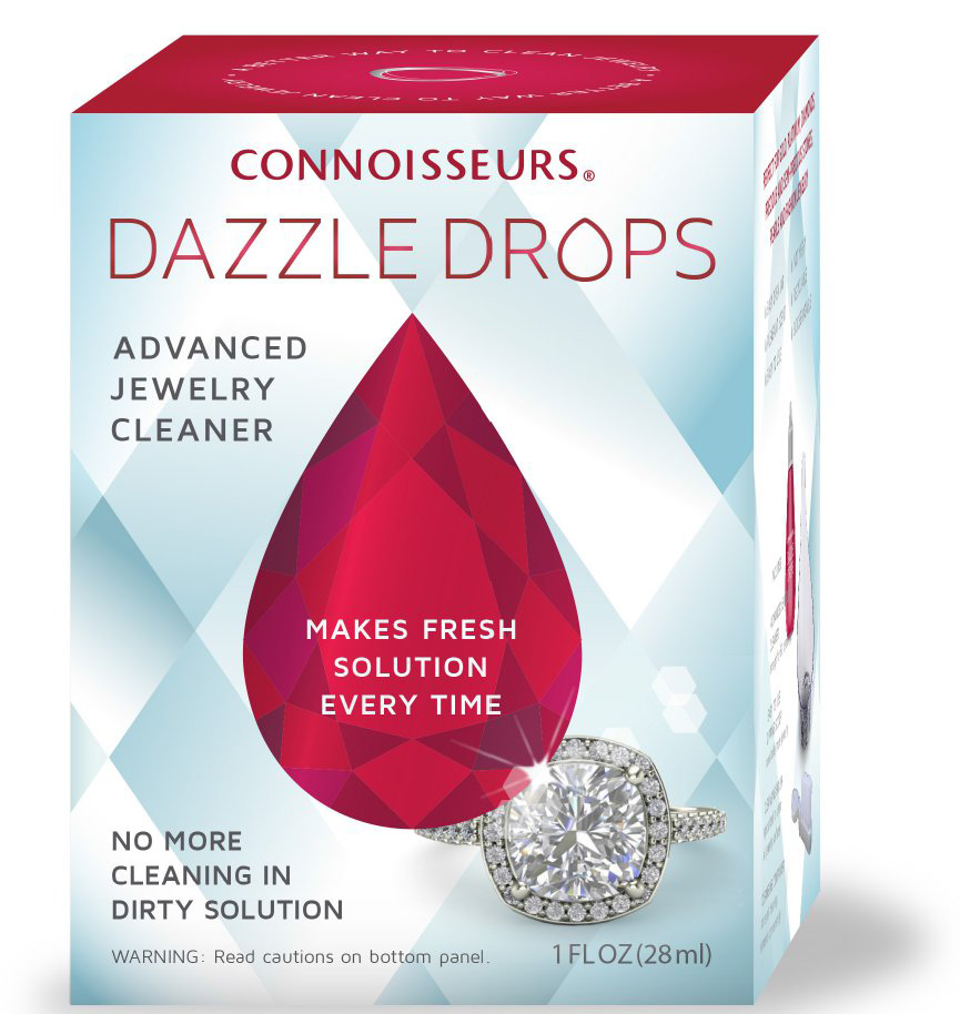 Connoisseurs Jewelry Cleaners Sonic Dazzle Stik And Drops Earn Good Housekeeping Seal