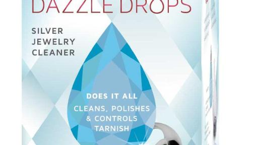 Connoisseurs Dazzle Drops Silver Jewelry Cleaner