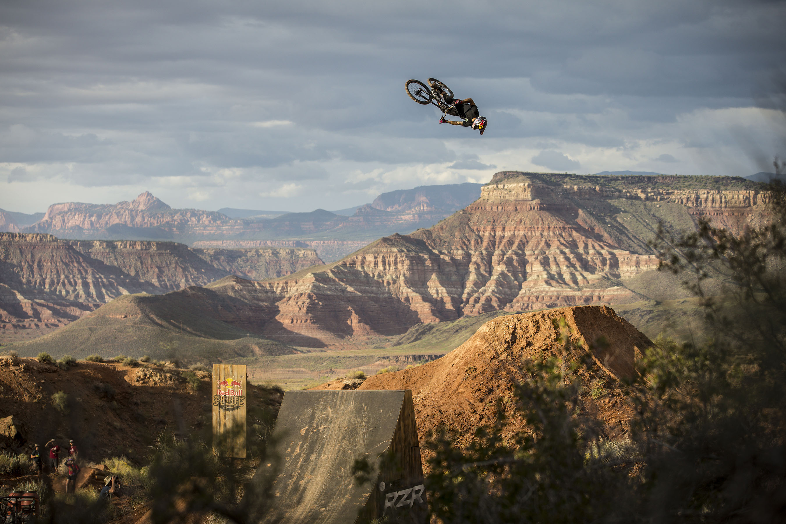 Spain's Andreu Lacondeguy returns in 2015 to defend his Red Bull Rampage title