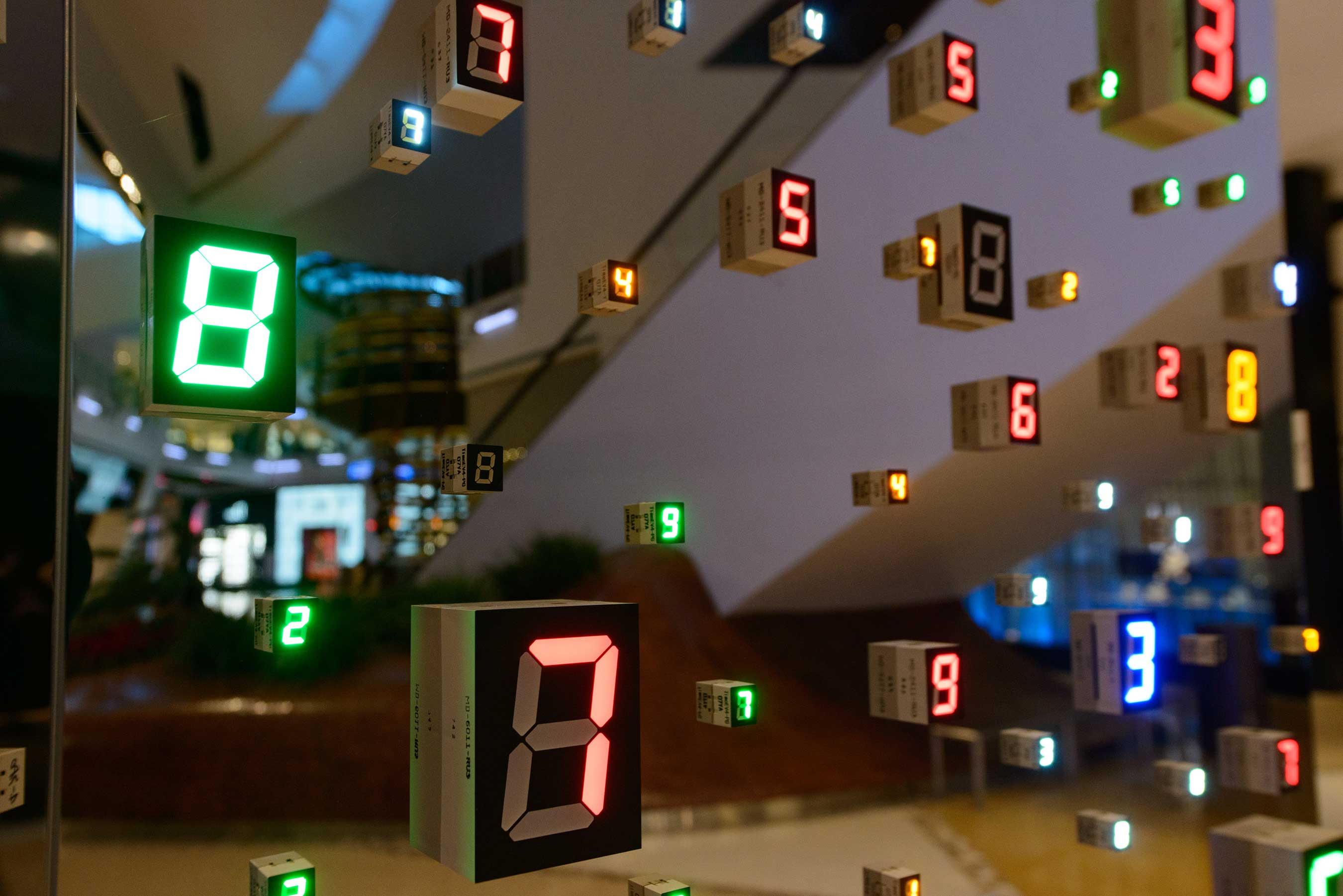 MGM Resorts International welcomes HOTO by renowned Japanese Artist Tatsuo Miyajima, on display in the U.S. for the first time.