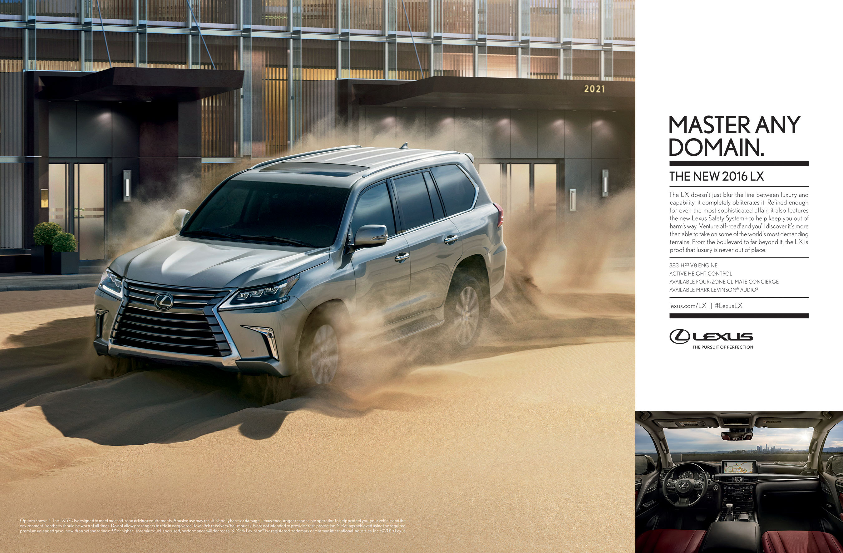 The Ultimate in Refinement Meets the Ultimate in Capability with the New Lexus LX