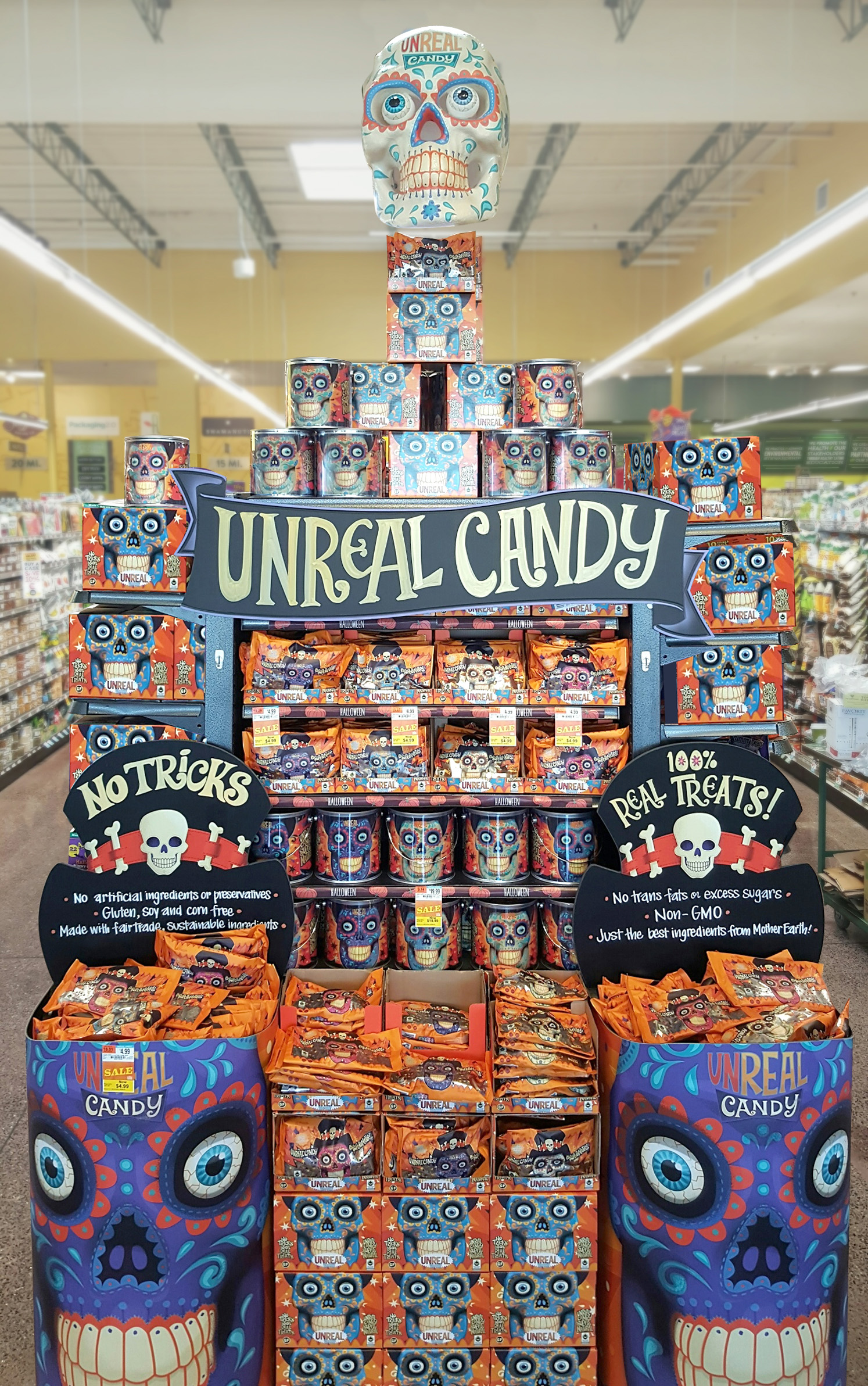 Unreal 174 Launches A Super Natural Candy Revolution With