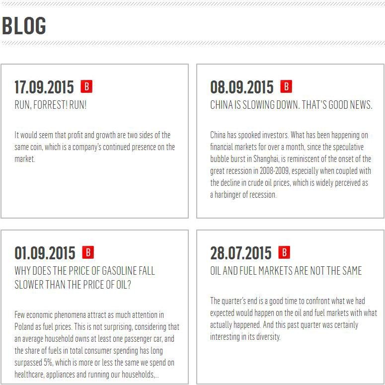 PKN ORLEN Blog