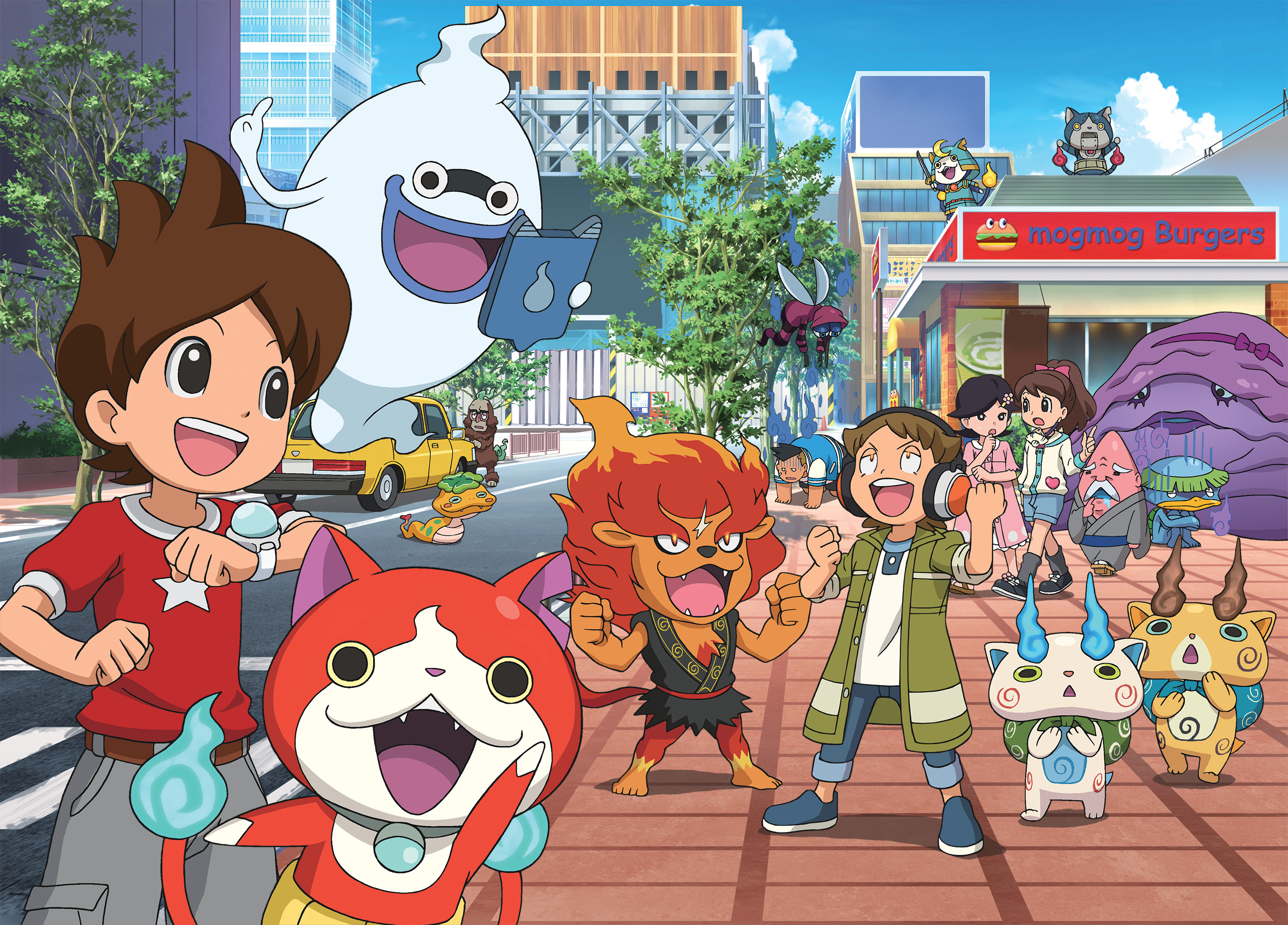 japan s record breaking new anime franchise yo kai watch premieres
