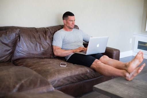 Steve Weatherford in Tommy John Loungewear
