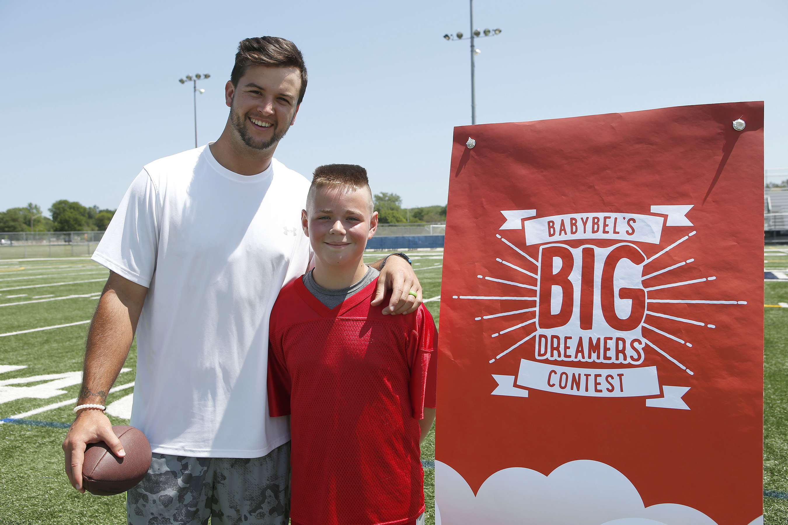 AJ McCarron & Dylan Myers (Photo by Scott Boehm/Invision for Bel Brands/AP Images)