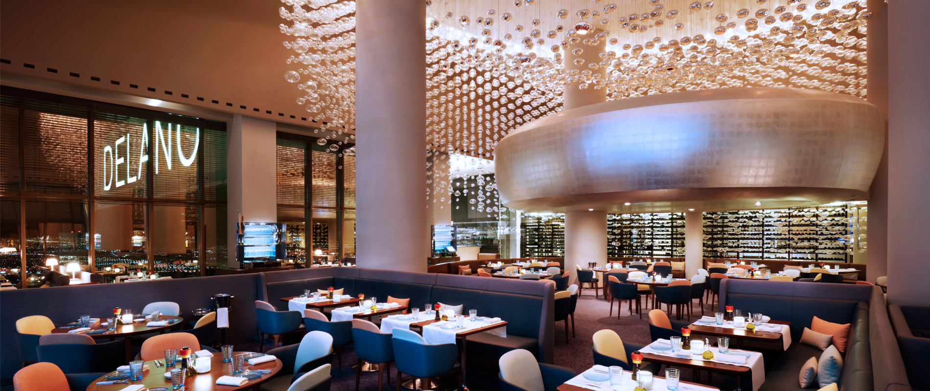 Now Open Revered Chef Alain Duce Debuts Rivea And Skyfall Lounge At Delano Las Vegas
