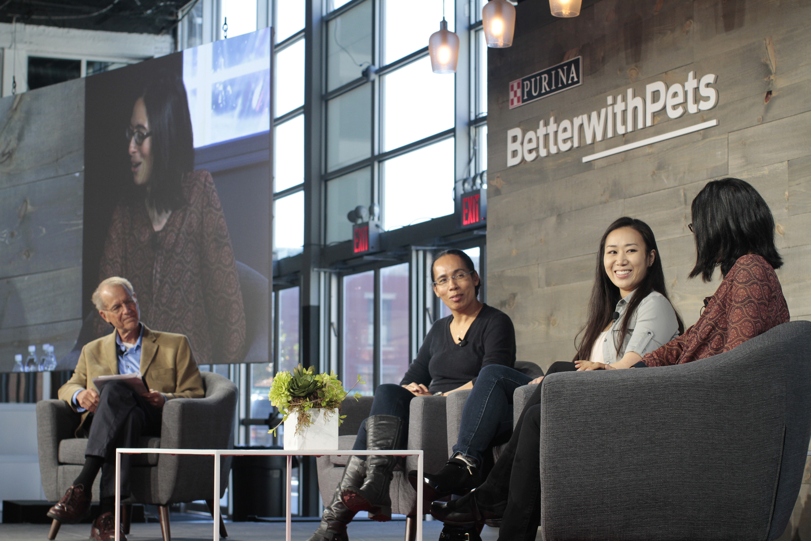 Purina's third-annual Better With Pets Summit featured three panel discussions exploring different themes across emotional wellness among pets and people.