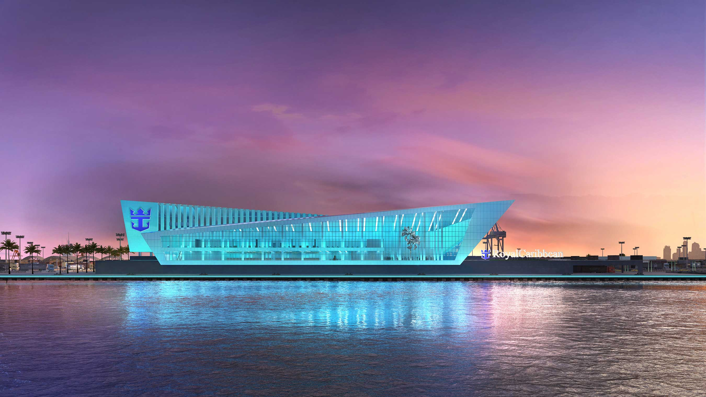 Royal Caribbean Cruises Ltd.'s (RCL) new, iconic terminal at PortMiami will be home to an Oasis-class ship. The iconic building is slated for late 2018.