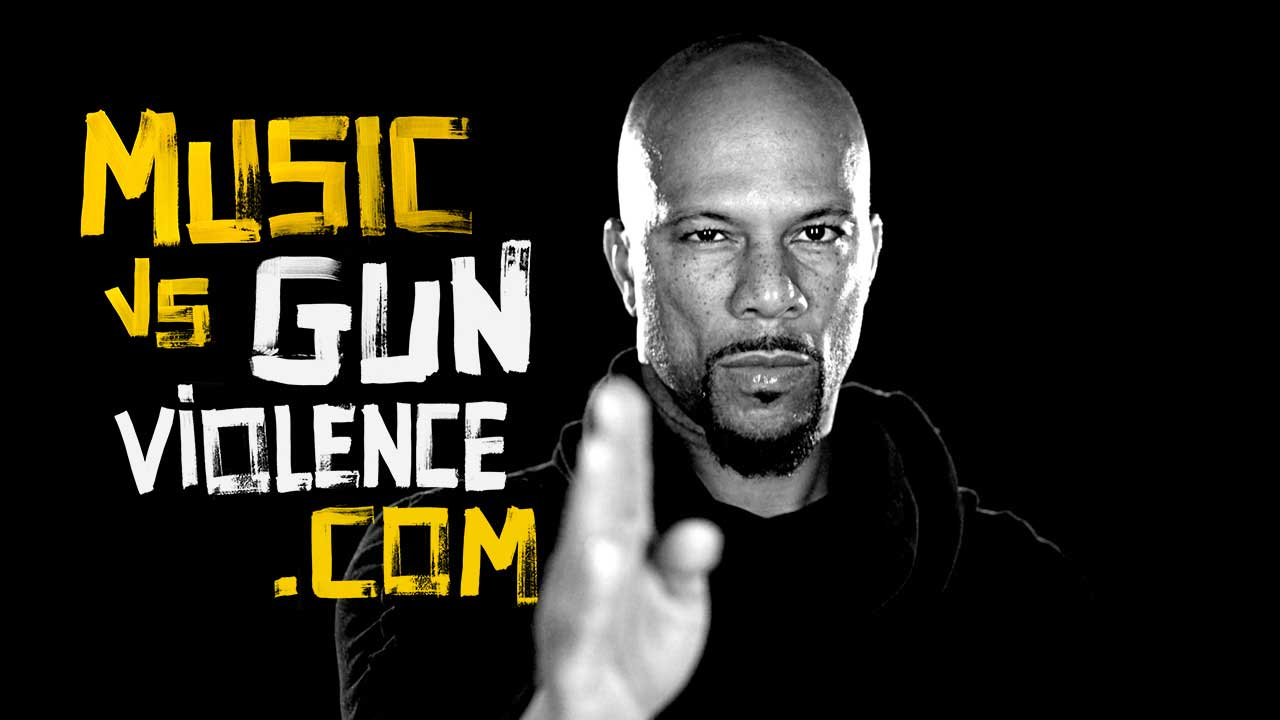 Academy and Grammy winning artist Common encourages Chicago's youth to #PutTheGunsDown