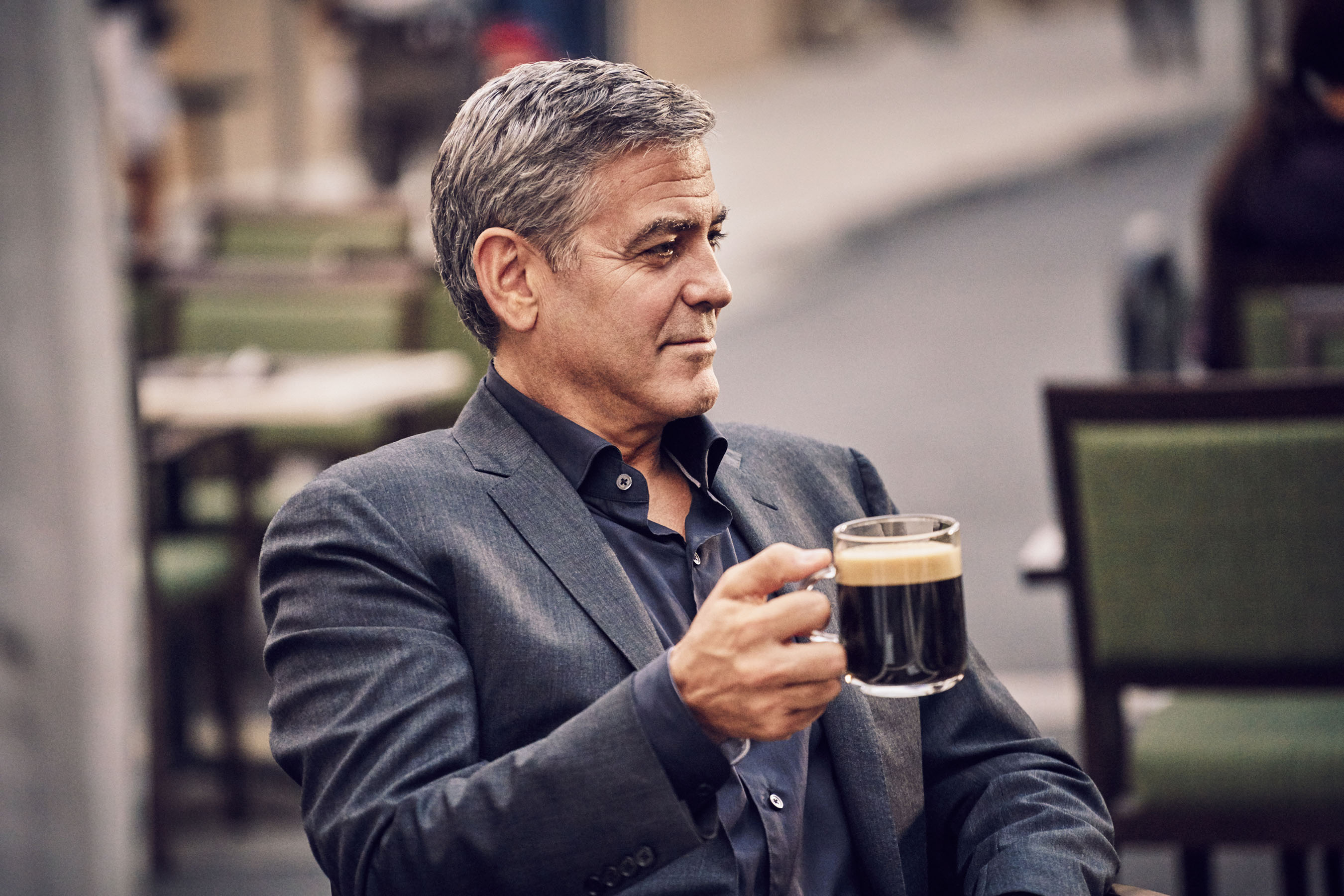 george clooney coffee machine ad