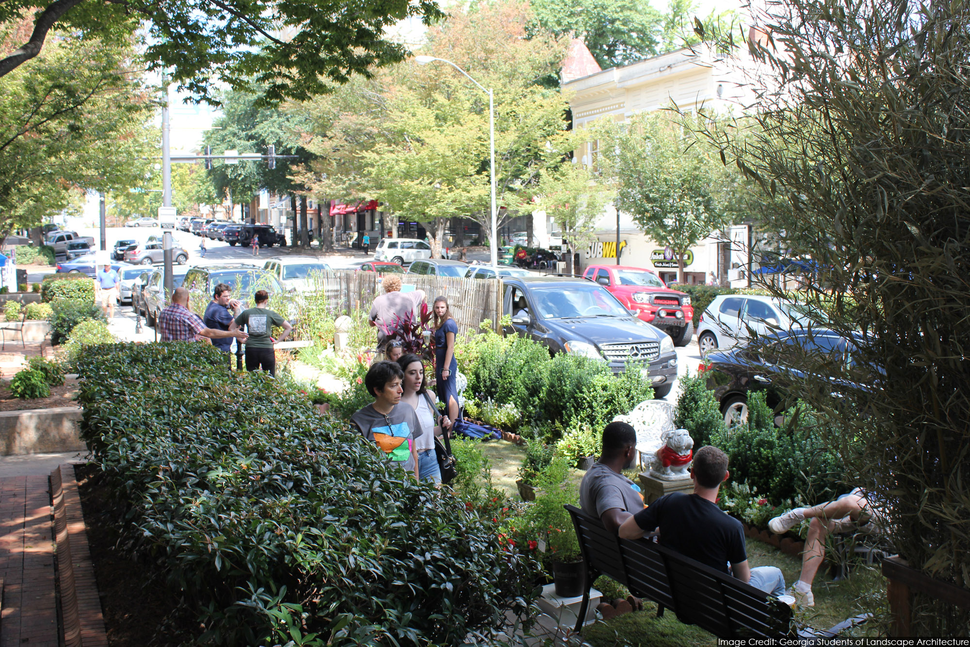 Merveilleux Celebrate PARK(ing) Day 2016 With The American Society Of Landscape  Architects