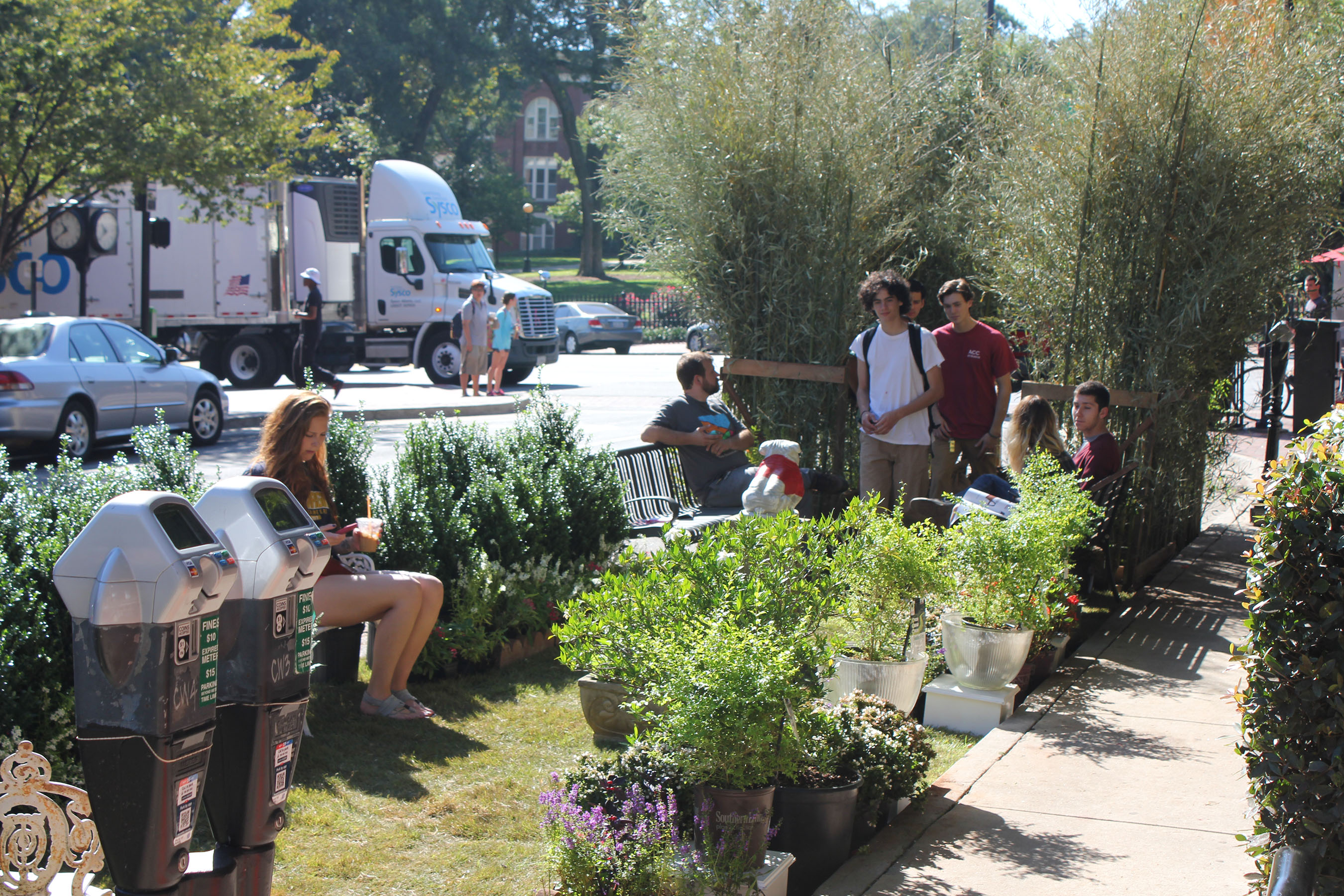 Celebrate PARK(ing) Day 2016 With The American Society Of Landscape  Architects