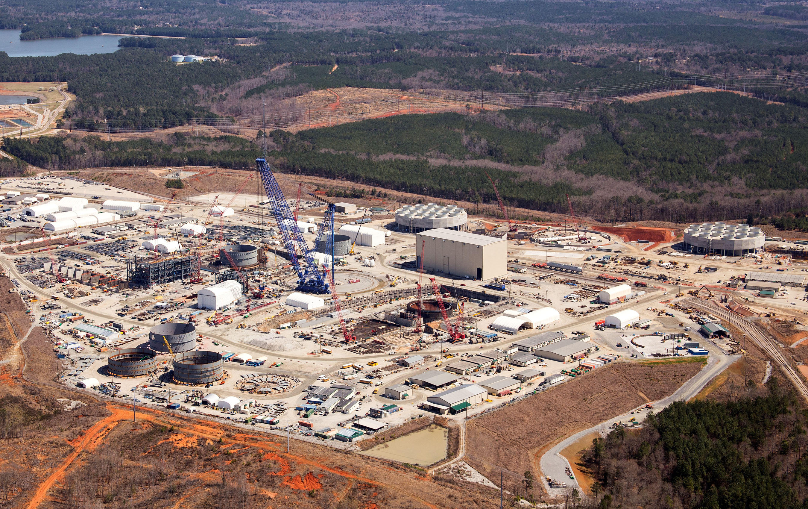 Two Westinghouse AP1000 reactors are being built at the V.C. Summer site in South Carolina, with two others under construction at Plant Vogtle in Georgia.